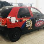 LOTE 001 - Um veículo Fiat Palio Fire Flex, ano/mod 2007/2008, 04 portas.