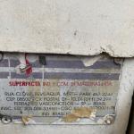 UMA AMASSADEIRA MARCA SUPERFECTA, CAPACIDADE PARA 50KG TRIFÁSICA